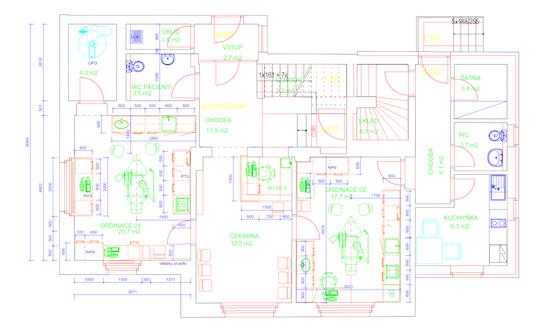 Výběr vhodného prostoru a stavební úpravy